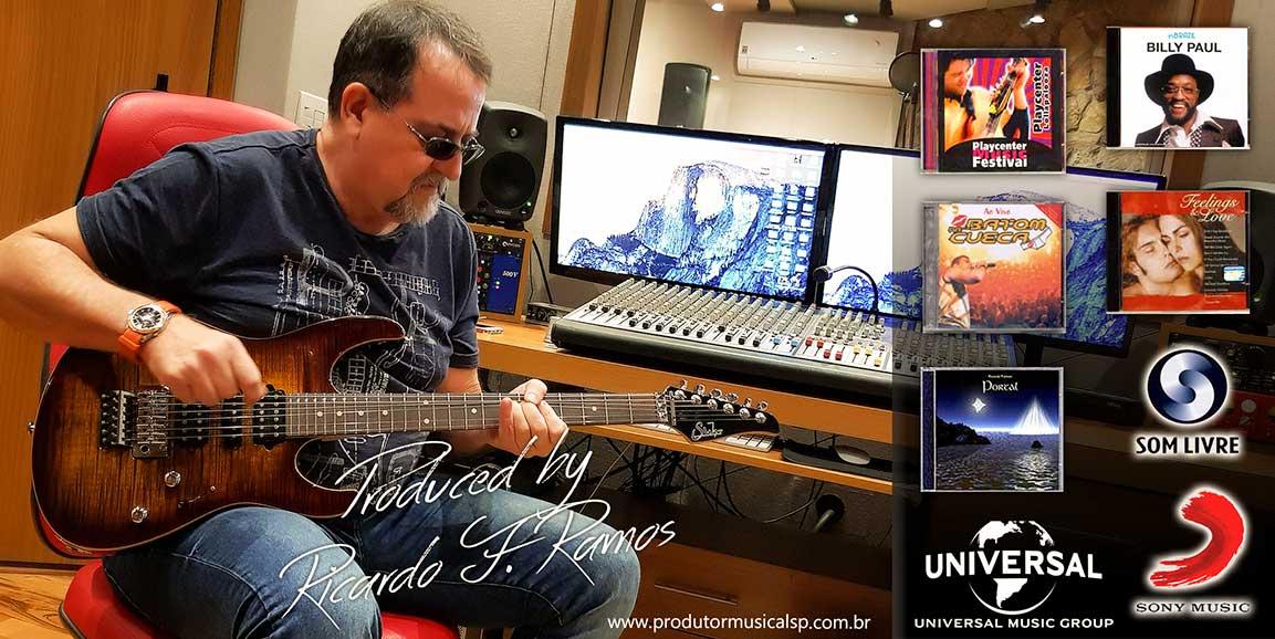 Produtor Musical SP Ricardo F Ramos